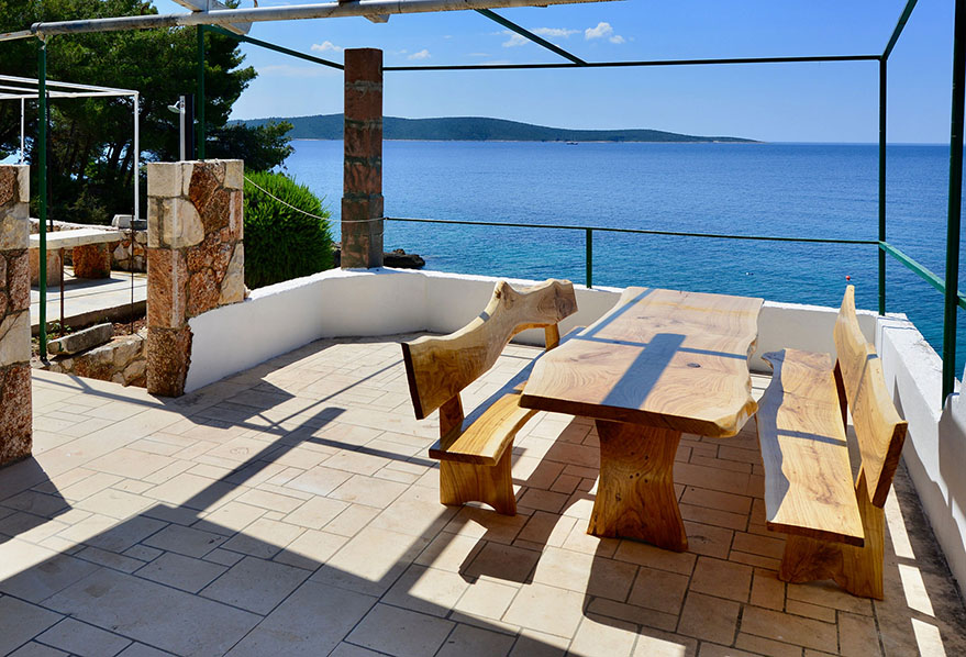 Hvar apartment terrace